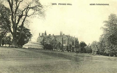 franks hall - from the river